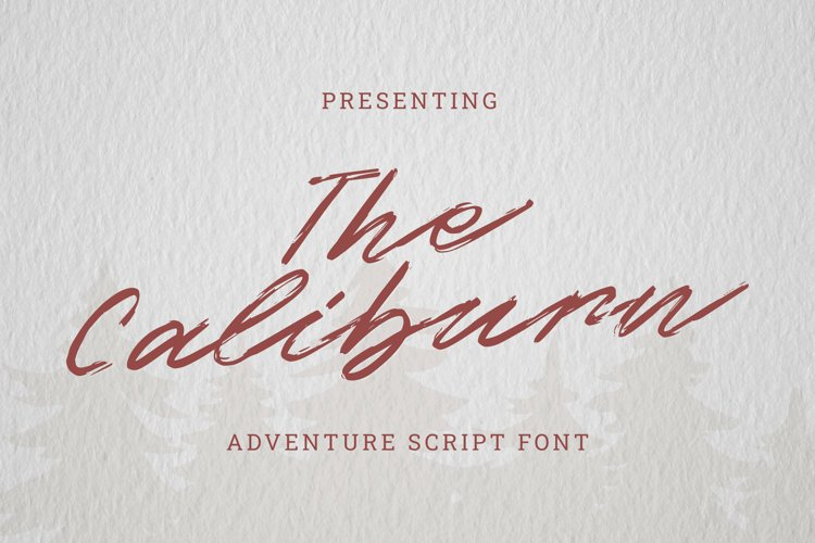 The Caliburn Font example image 1