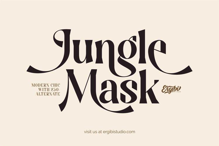 Jungle Mask - Modern Font example image 1