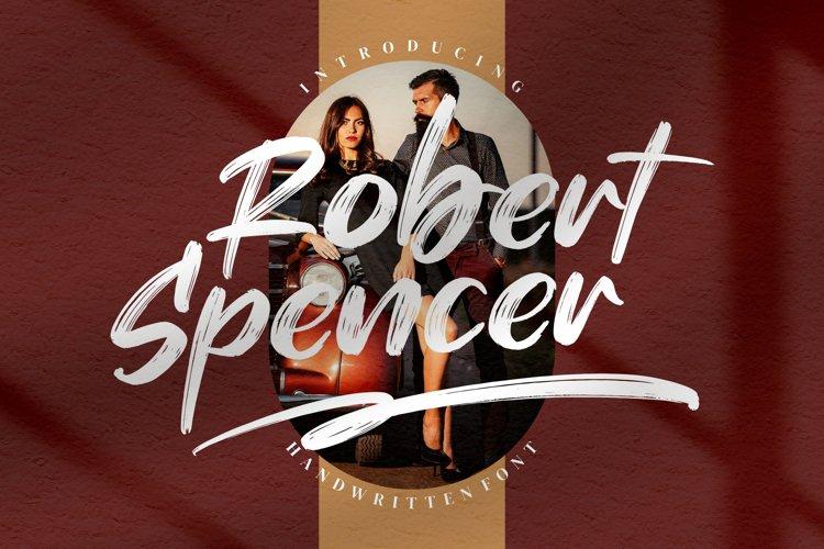Robert Spencer - Handwritten Font example image 1