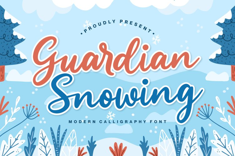 Guardian Snowing example image 1