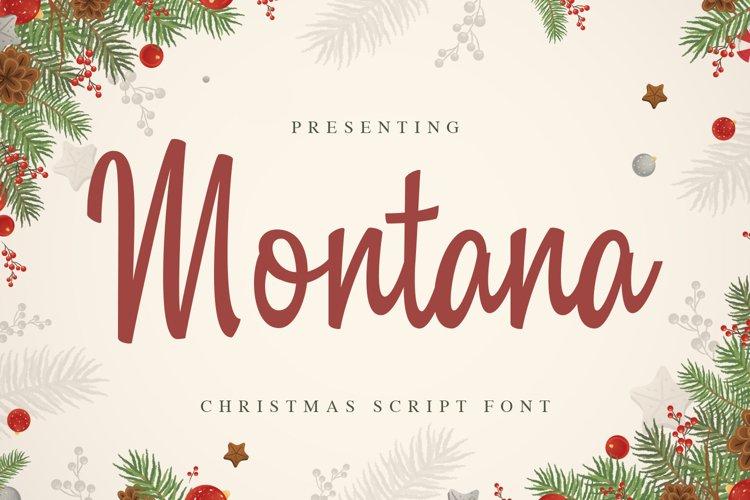 Montana Font example image 1