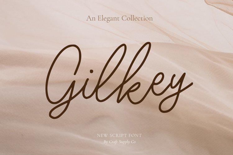 Gilkey - Elegant Script