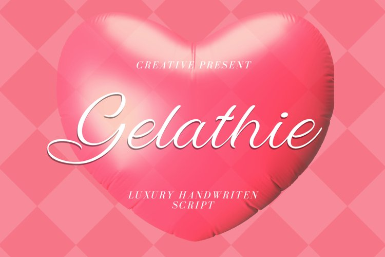 Gelathie Font example image 1