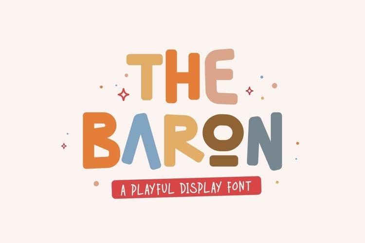 BAroN Font example image 1