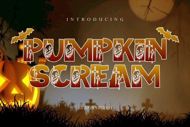 Pumpkin Scream example image 1