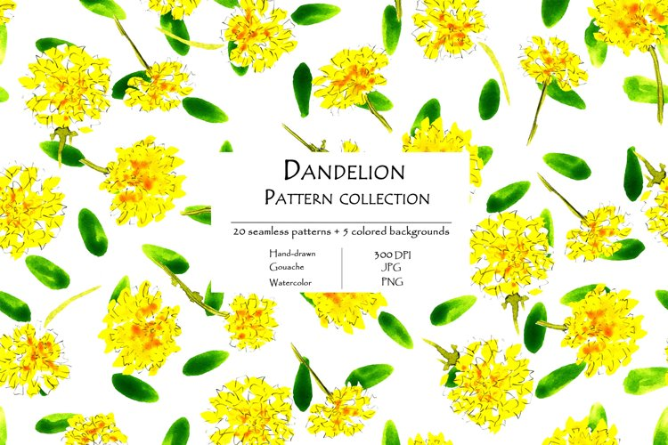 Dandelion Pattern Collection