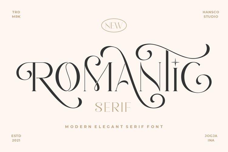 Romantic Sans example image 1