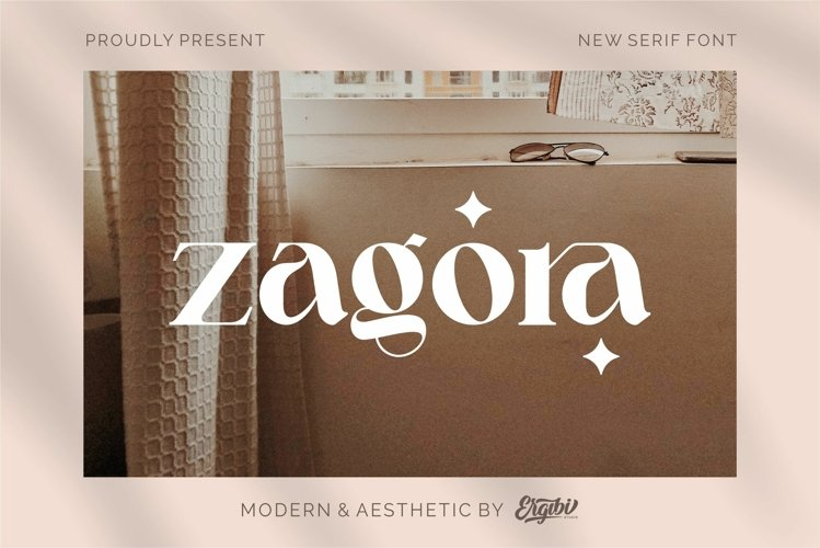 Zagora - Modern Font example image 1
