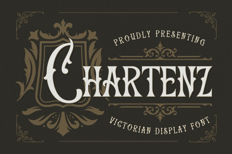 Chartenz Font example image 1