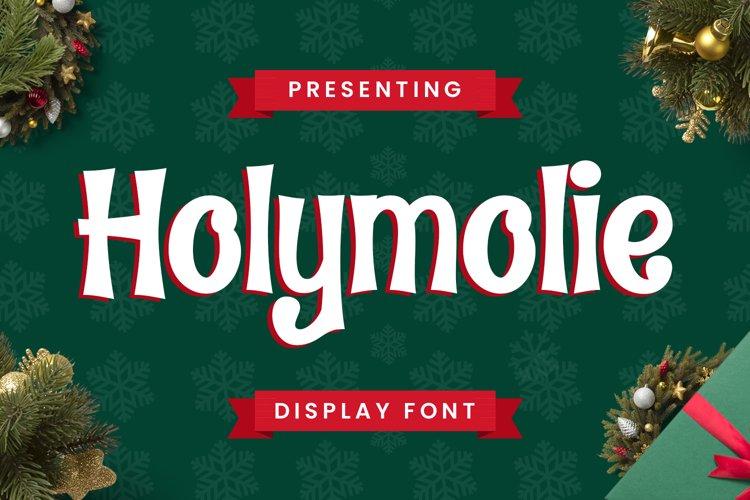 Holymolie Font example image 1