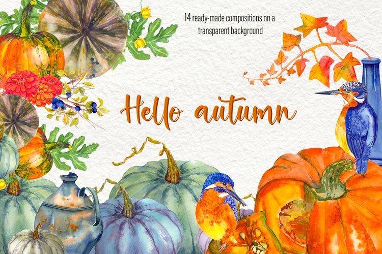 Fall Clip Art, Fall Graphics Set, Thanksgiving Clip Art example image 1