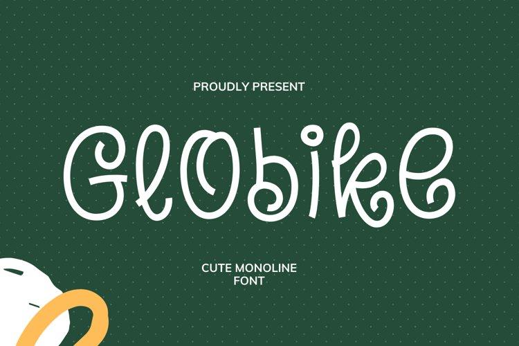 Globike Font example image 1