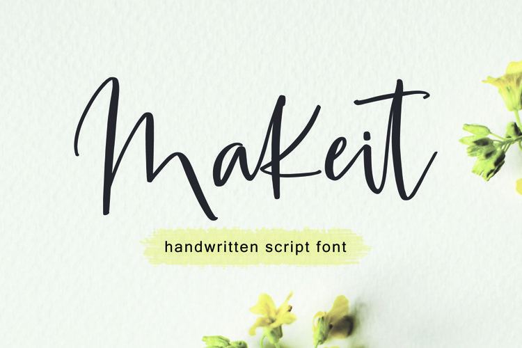 Makeit Font