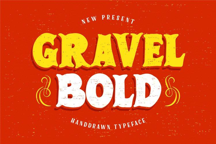 GravelBold example image 1
