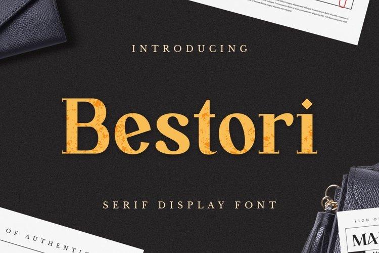 Bestori Font example image 1