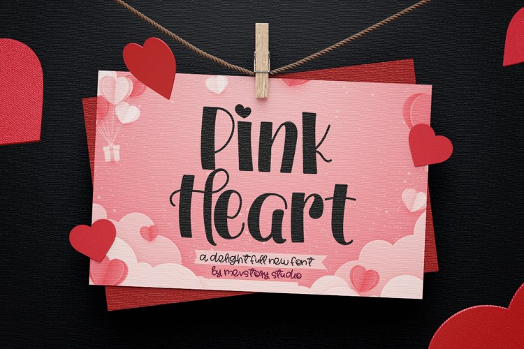 Pink Heart example image 1