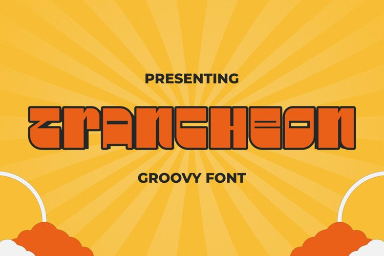 TRANcheon Font example image 1