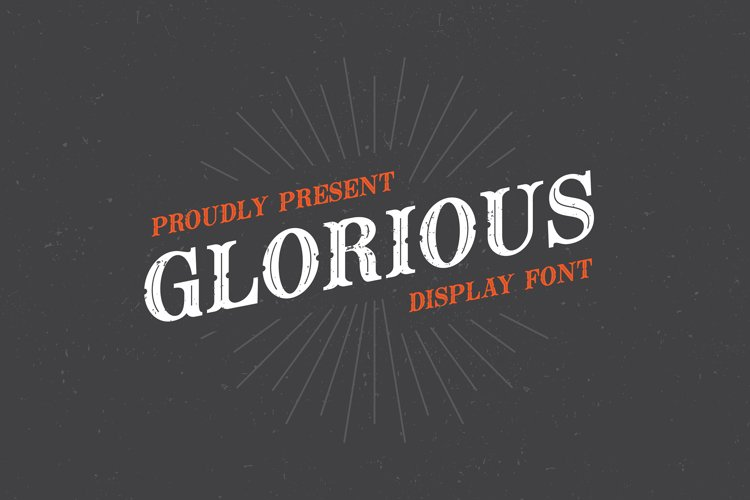 Glorious Font example image 1