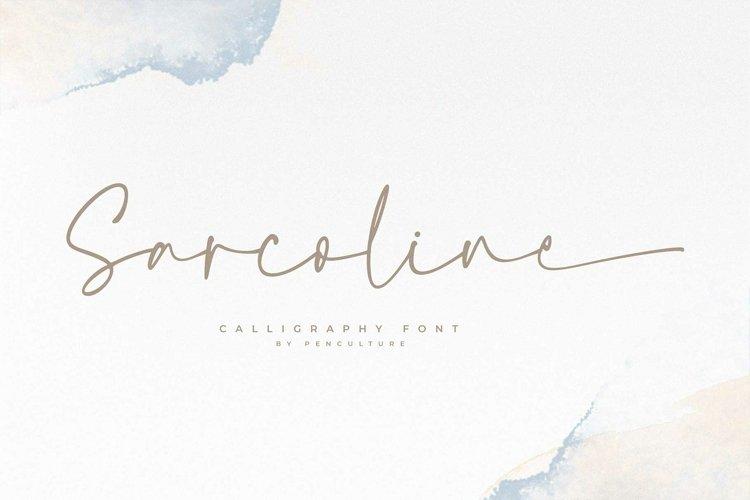 Sarcoline - A Modern Calligraphy