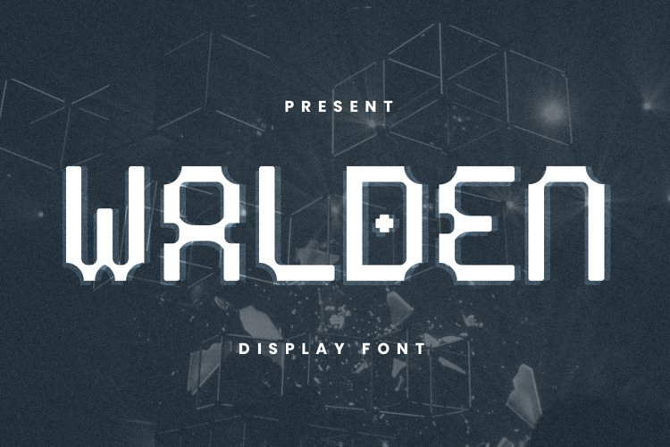 Walden Font example image 1
