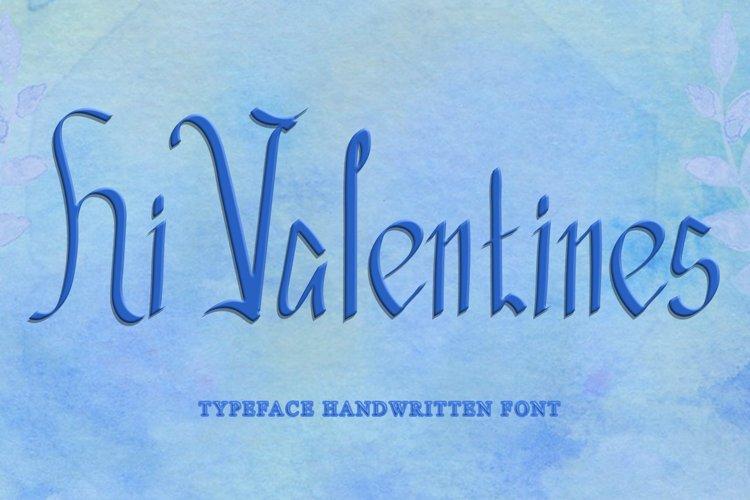 Hi Valentines example image 1