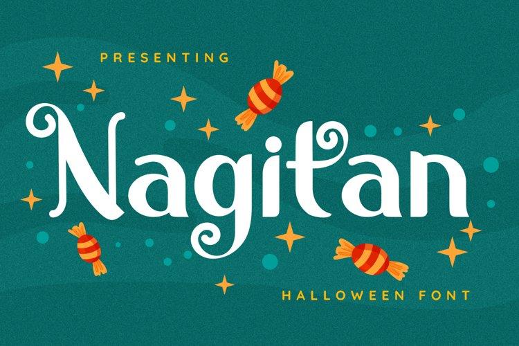 Nagitan Font example image 1