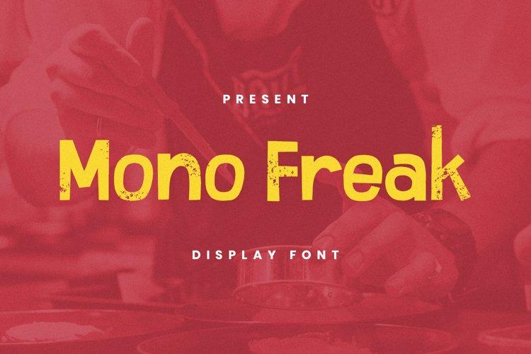 Mono Freak Font example image 1