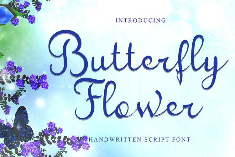 Butterfly Flower example image 1