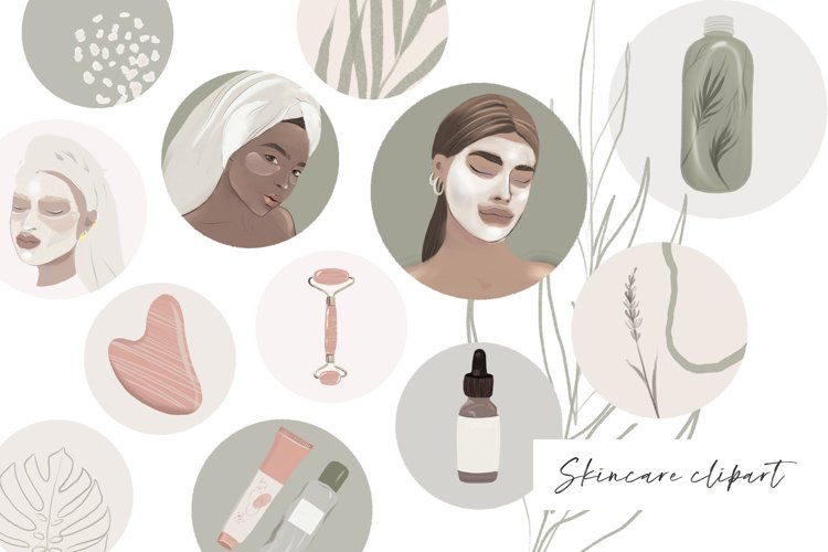 woman face Skincare healthy Instagram highlights selfcare