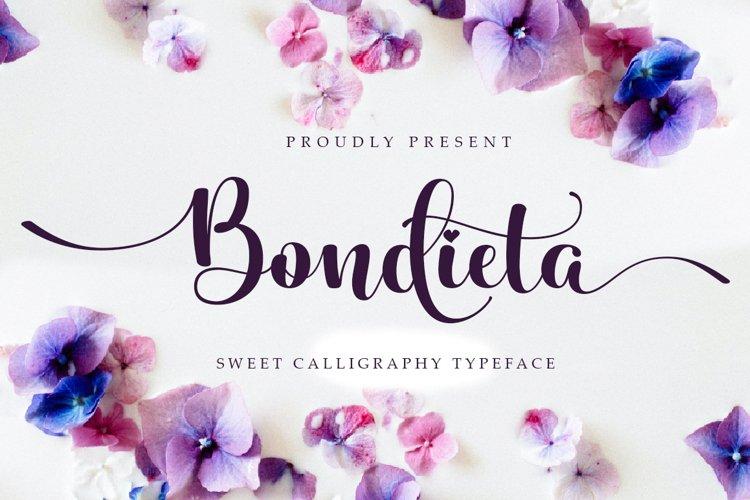 Bondieta script example image 1