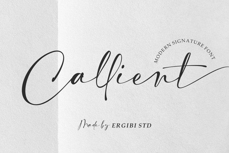 Callient - Modern Signature example image 1