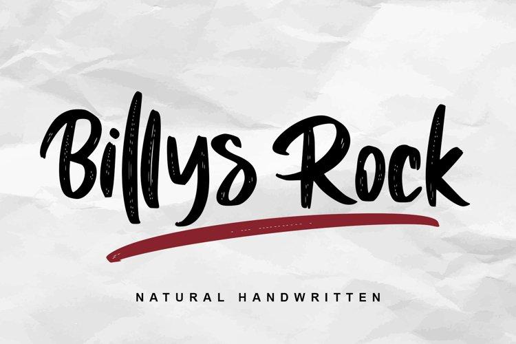 Billys Rock example image 1