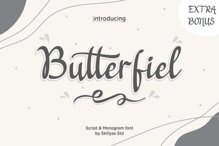 Butterfiel - Script & Decorative Font example image 1
