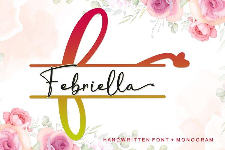 Febriella - Monogram example image 1