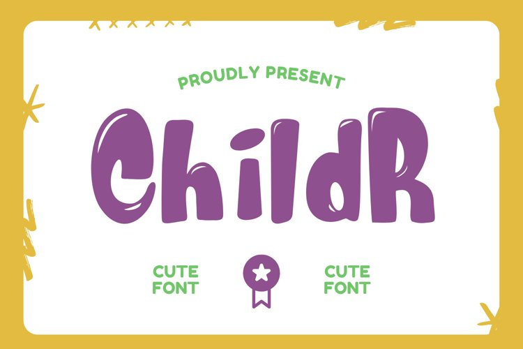 Childr Font example image 1