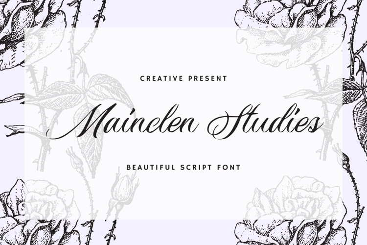 Mainclen Studies Font example image 1