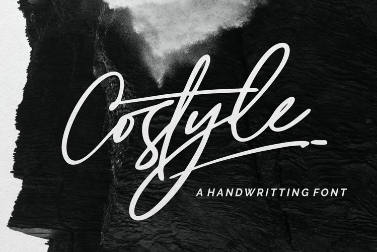 Costyle - A Handriwtten Font example image 1