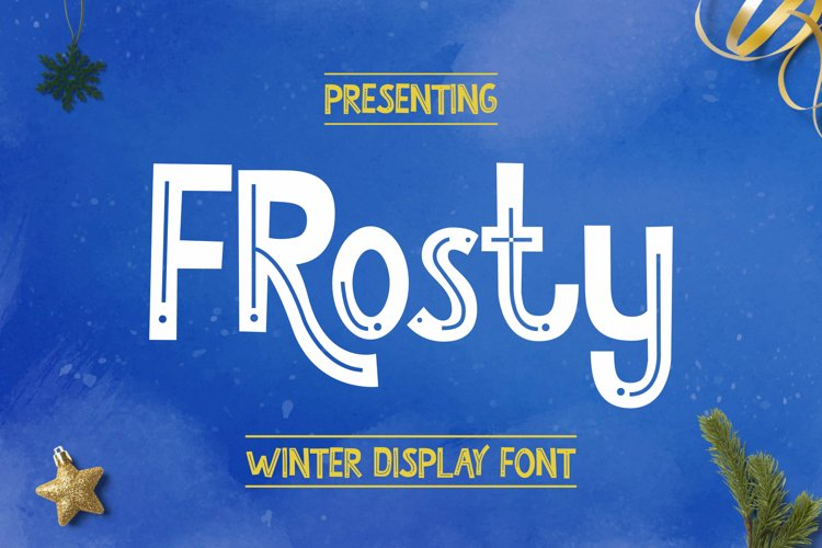 Frosty Font example image 1