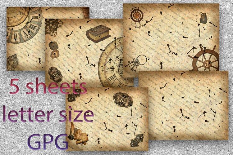 Scrapbook Paper, Junk Journal Printable, Scrapbook Kit 1
