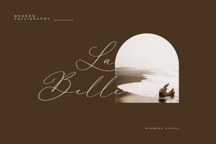 La Belle - Wedding Font