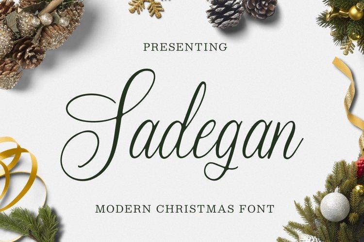 Sadegan Font example image 1
