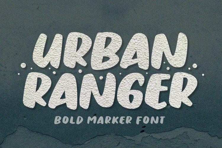 Urban Ranger - Bold Display Font example image 1