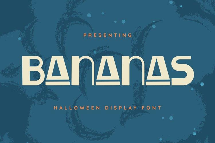 Bananas Font example image 1