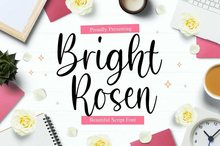 BrightRosen Font example image 1