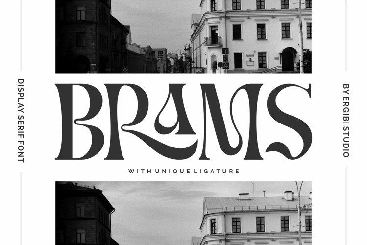 BRAMS - Display Serif example image 1