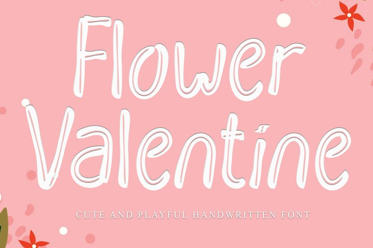 Flower Valentine example image 1