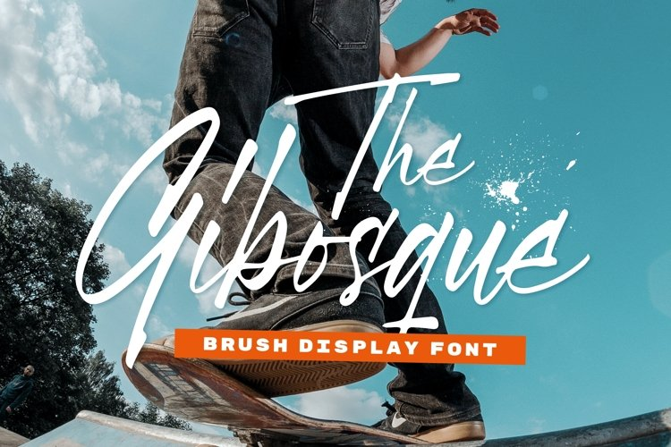 Gibosque Font example image 1