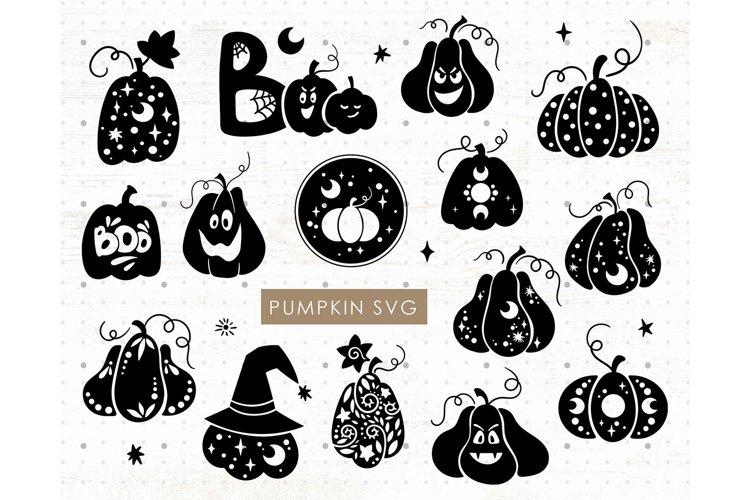 Celestial Halloween Pumpkin SVG bundle