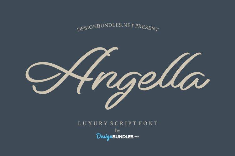 Angella Font example image 1