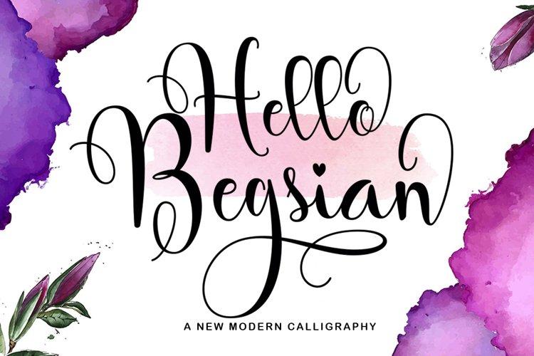 Hello Begsian example image 1